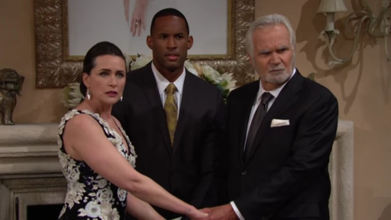 Eric and Quinn's vow renewal on The Bold and the Beautiful.