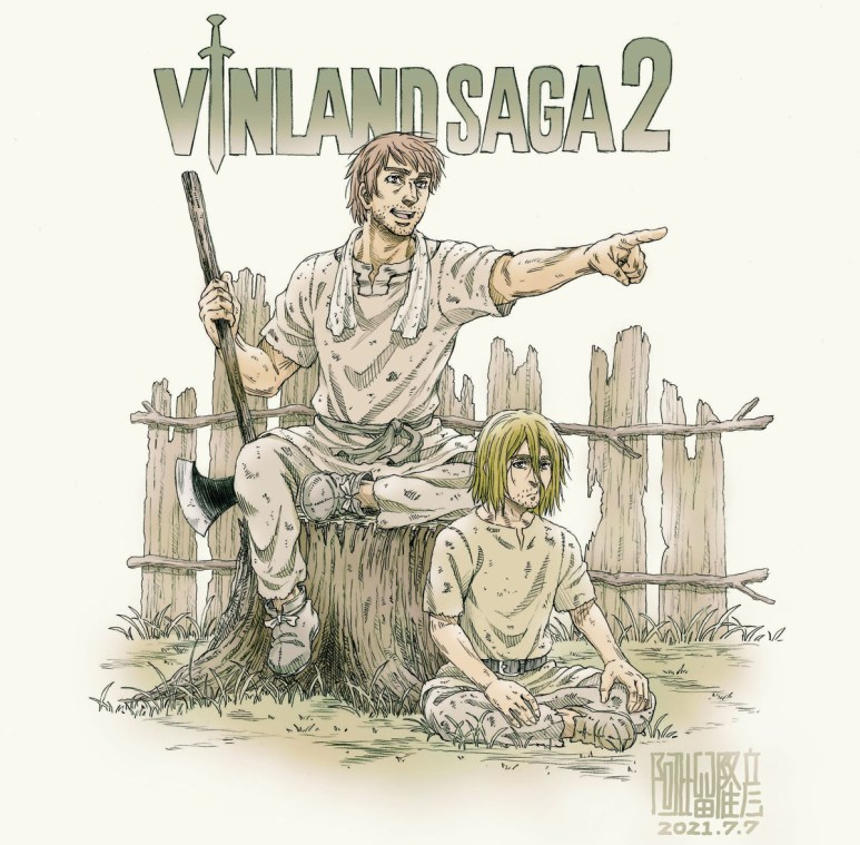 Vinland Saga Season 2 Art