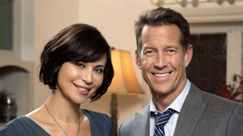 Catherine Bell and James Denton of Hallmark Channel's Good Witch.