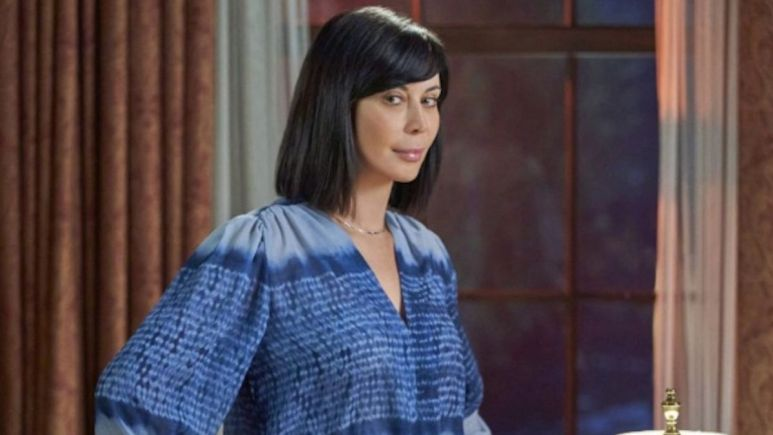 Catherine Bell as Cassie Nightingale in the series finale of Hallmark Channel's Good Witch.