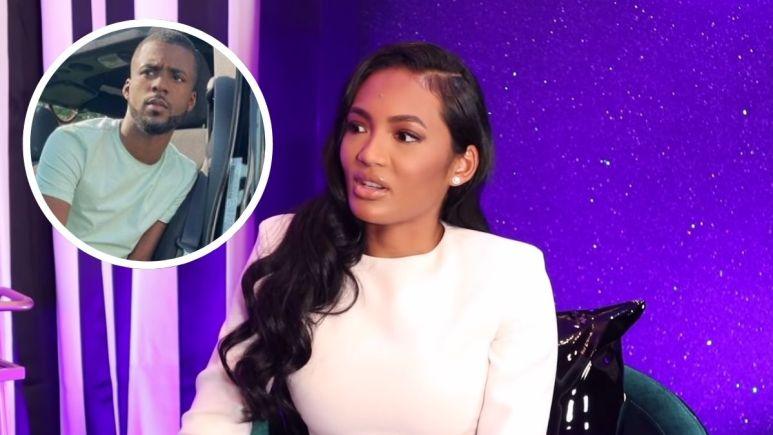 Jaylan Banks may have just confirmed his relationship with RHOA star Falynn Guobadia