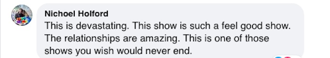 A fan weighs in on the Hallmark Channel's decision to cancel the series Good Witch.