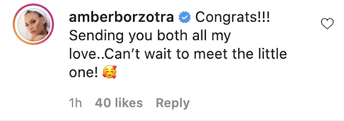 amber borzotra the challenge comments kyle christie ig post gender reveal