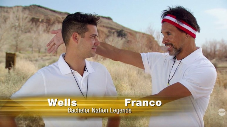 Wells and Franco on The Bachelorette
