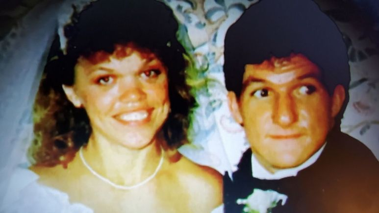 amy and matt roloff of lpbw on their wedding day in 1987