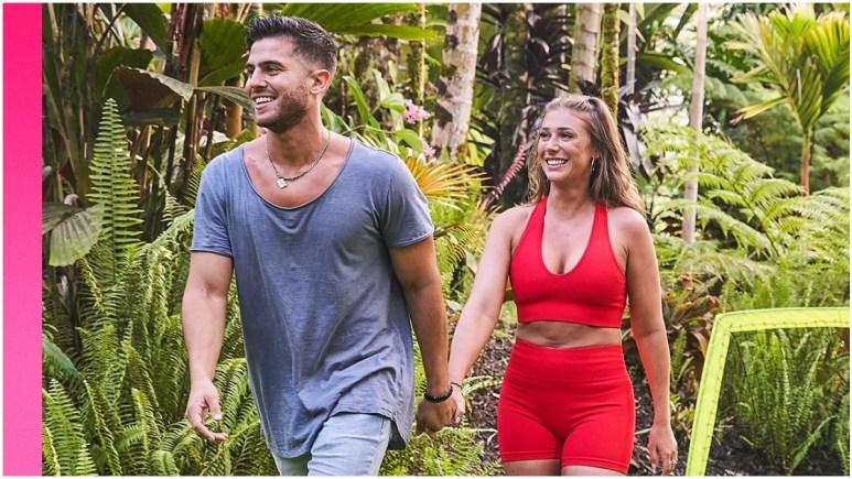 Andre and Olivia on Love Island USA