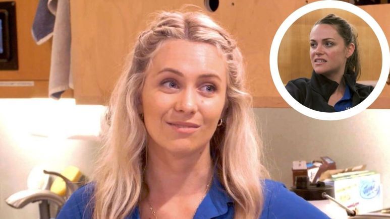Ashling Lorger from Below Deck admits Rachel Hargrove was rude to production.