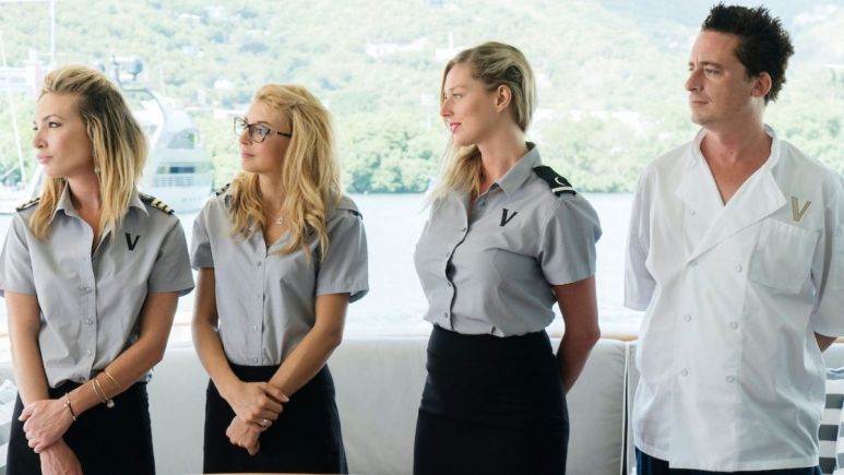 Which Below Deck, Below Deck Sailing Yacht and Below Deck Med crew members appeared on more than one season?