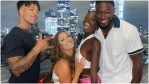 Cash, Cinco, Olivia and Korey from Love Island USA