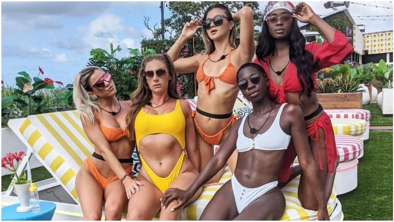 Cashay Proudfoot and the Islanders on Love Island USA