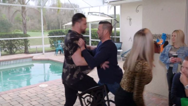 Andrei and Charlie fight