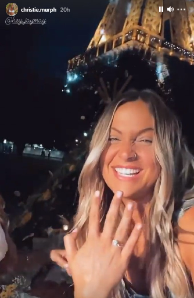 Christire BB21 Engaged