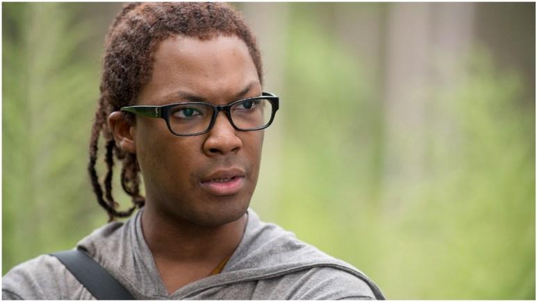 Corey Hawkins stars as Heath, as seen in Episode 12 of AMC's The Walking Dead Season 6