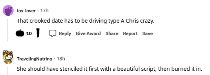 amy roloff of lpbw got critiqued for her wedding project on reddit