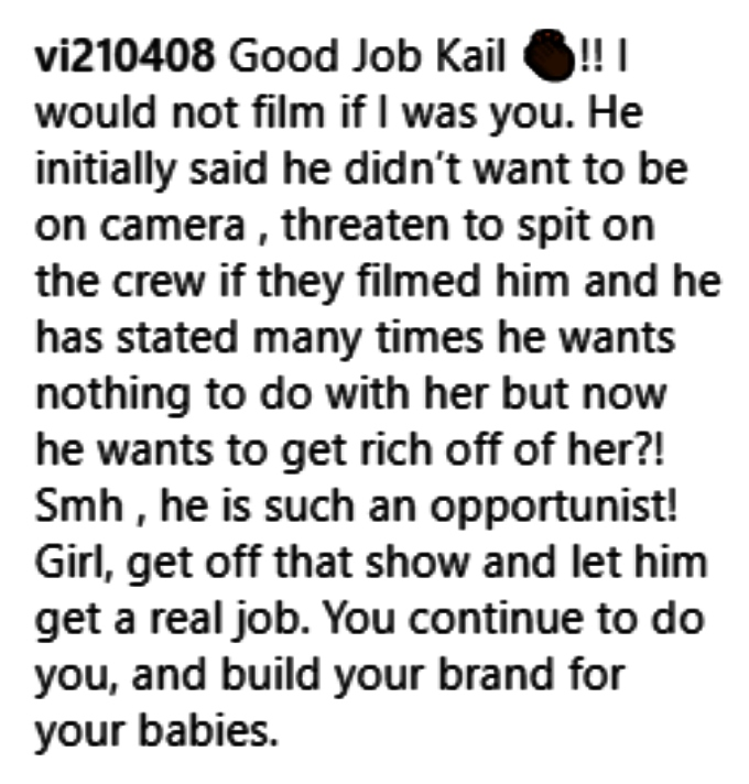 teen mom 2 fans discussed kail lowry not filming on instagram