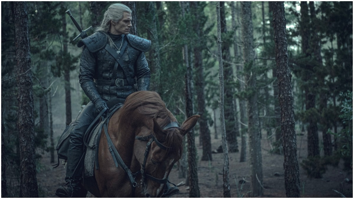 Henry Cavill stars as Geralt of Rivia, as seen in Season 1 of Netflix's The Witcher
