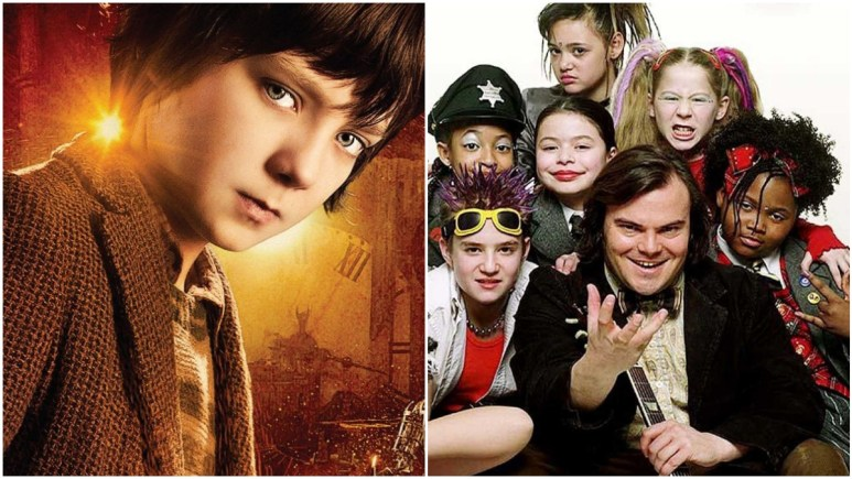 Hugo and School of Rock are family movies on Netflix