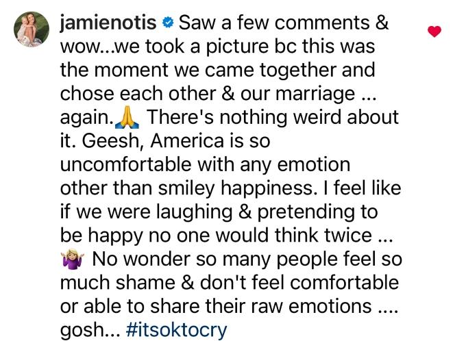 MAFS star Jamie Otis responds to backlash