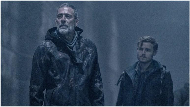 Jeffrey Dean Morgan as Negan and Callan McAuliffe as Alden, as seen in Episode 1 of AMC's The Walking Dead Season 11