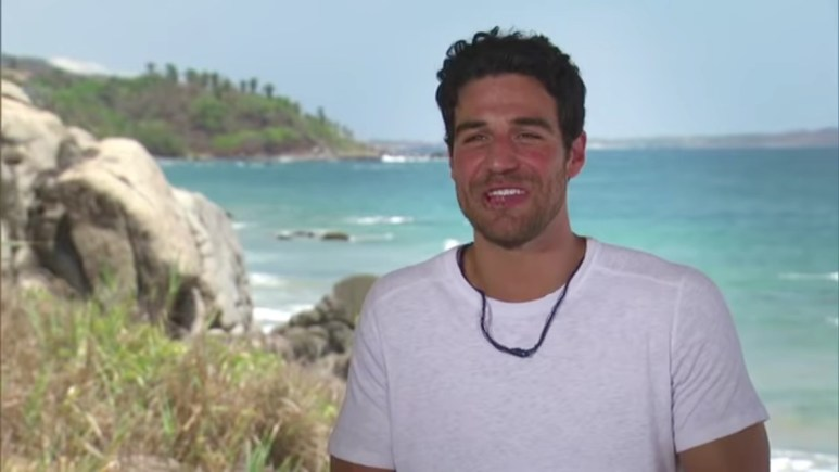Joe Amabile in Paradise.