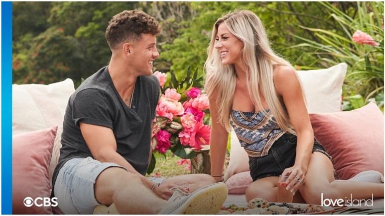 Josh and Shannon on Love Island USA