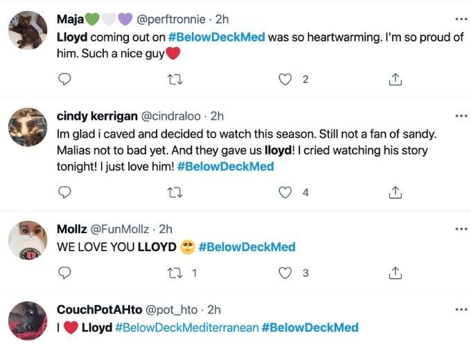 Twitter sends love to Lloyd