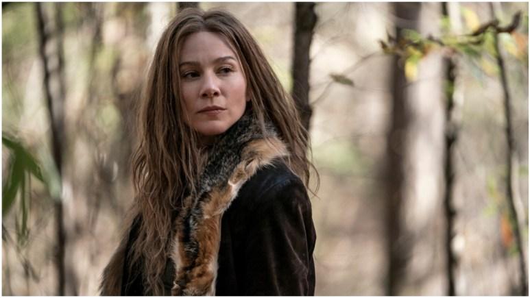 Lynn Collins stars as Leah, as seen in Episode 18 of AMC's The Walking Dead Season 10