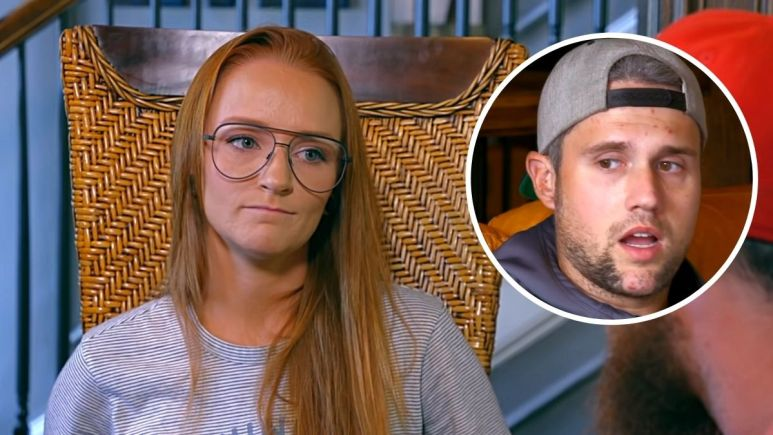 Ryan Edwards with Maci Bookout of Teen Mom OG