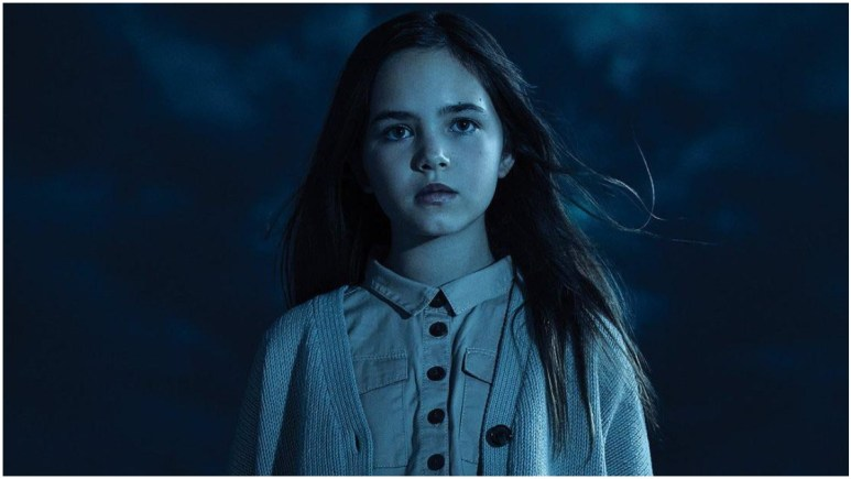 Ryan Kiera Armstrong stars as Alma Gardner in FX's American Horror Story: Double Feature