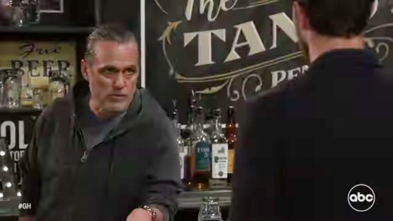 Maurice Benard and Wes Ramsey as Sonny and Peter on GH.