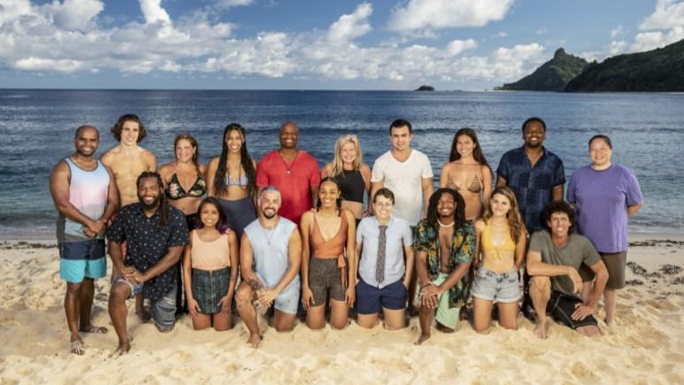 Survivor 41 Cast On Beach