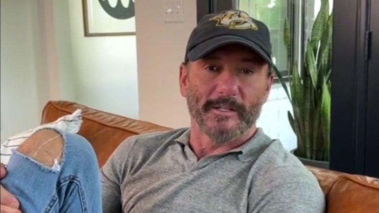 Screenshot of Tim McGraw from TikTok