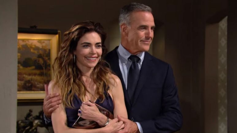 The Young and the Restless spoilers tease Ashland and Victoria share their engagement news.