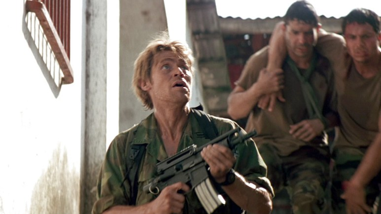 Willem Defoe in Clear and Present Danger