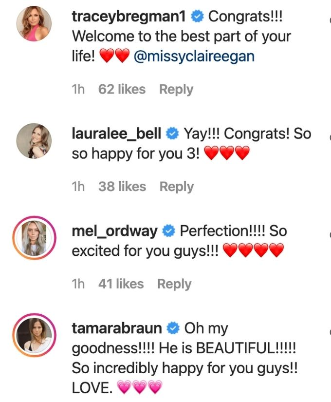 Soap stars share love with Melissa