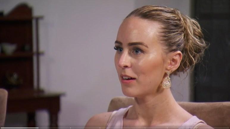 MAFS Danielle Dodd looks upset