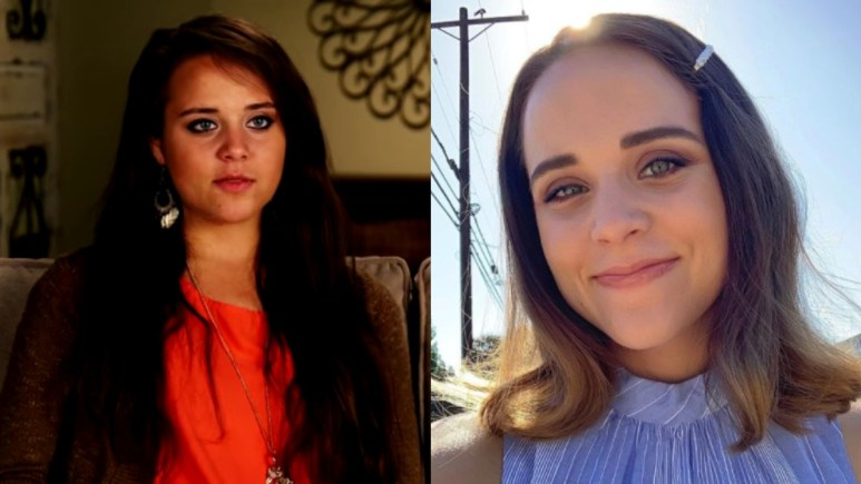Jinger Duggar before and after marriage.
