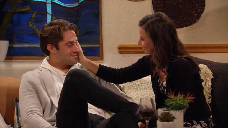 Katie Thurston and Greg Grippo film for The Bachelorette