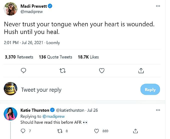 madison prewett twitter