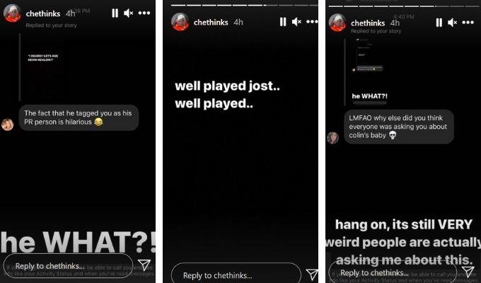 Screenshot of Michael Che's story