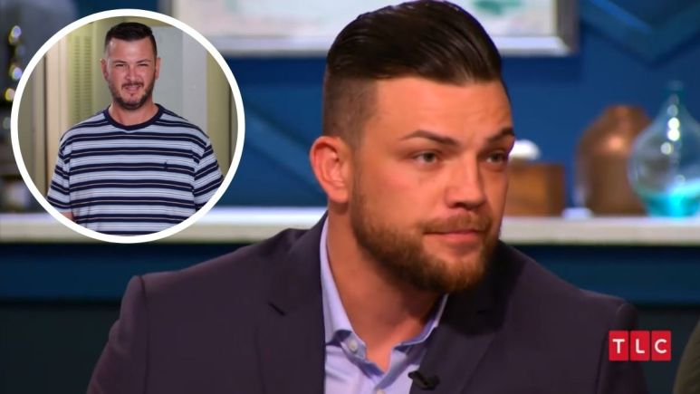 Andrei Castravet and Charlie Potthast face off during the 90 Day Fiance:Happily Ever After? Tell All