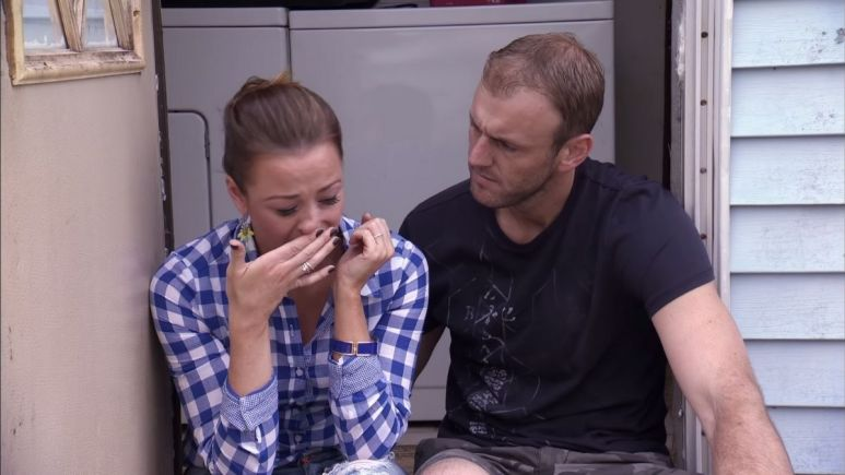 MAFS star Jamie Otis gets slammed for posting photo of herself and Doug crying