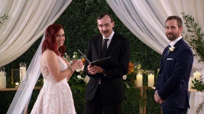MAFS Ryan and Brett meet at the altar