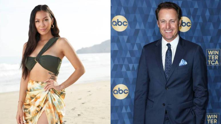 Tammy Ly and Chris Harrison