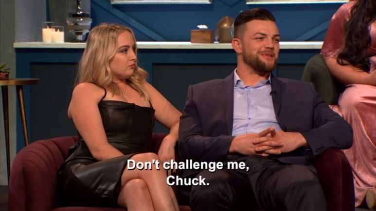 After siding with his son-in-law Andrei at the Happily Ever After Tell All, Chuck explained how Andrei could betray him