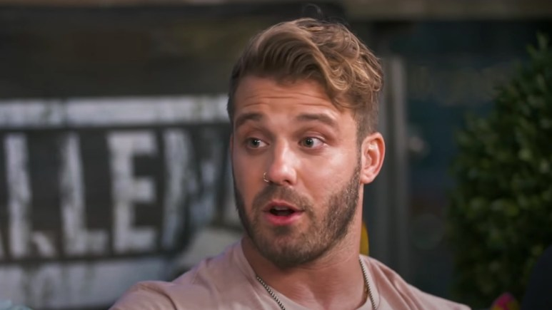 paulie calafiore during war of the worlds promotional video