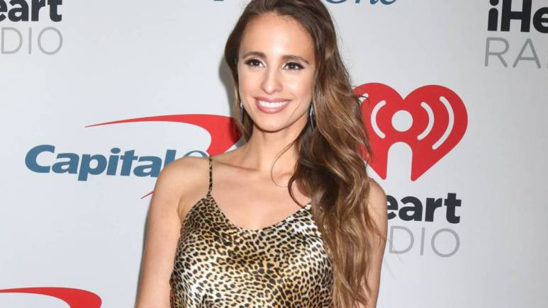 Vanessa Grimaldi on the red carpet