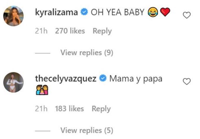 Kyra response on IG