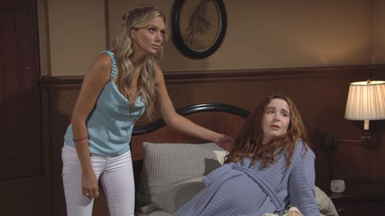 The Young and the Restless spoilers tease Mariah and Abby struggle after baby Dominic's birth.