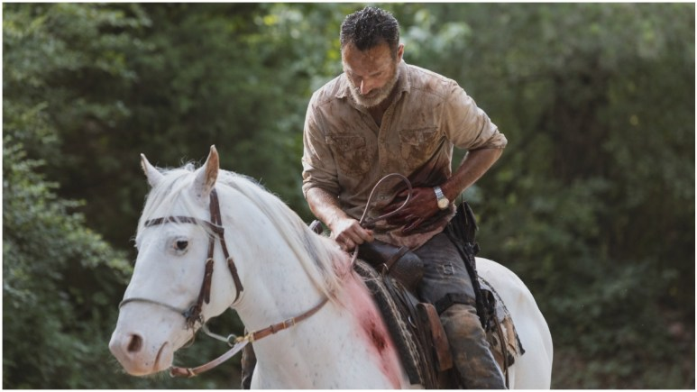Andrew Lincoln stars as Rick Grimes in Episode 5 of AMC's The Walking Dead Season 9
